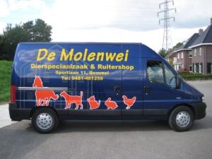 De Molenwei bezorgen
